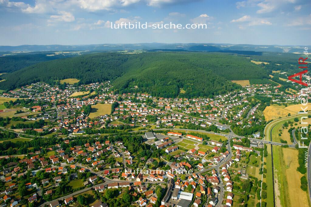 petzmannsberg--2008-09 | Luftbild von Petzmannsberg Kulmbach - Luftaufnahme wurde 2008 von https://frankenair.de mittels Flugzeug (keine Drohne) erstellt - die Geschenkidee