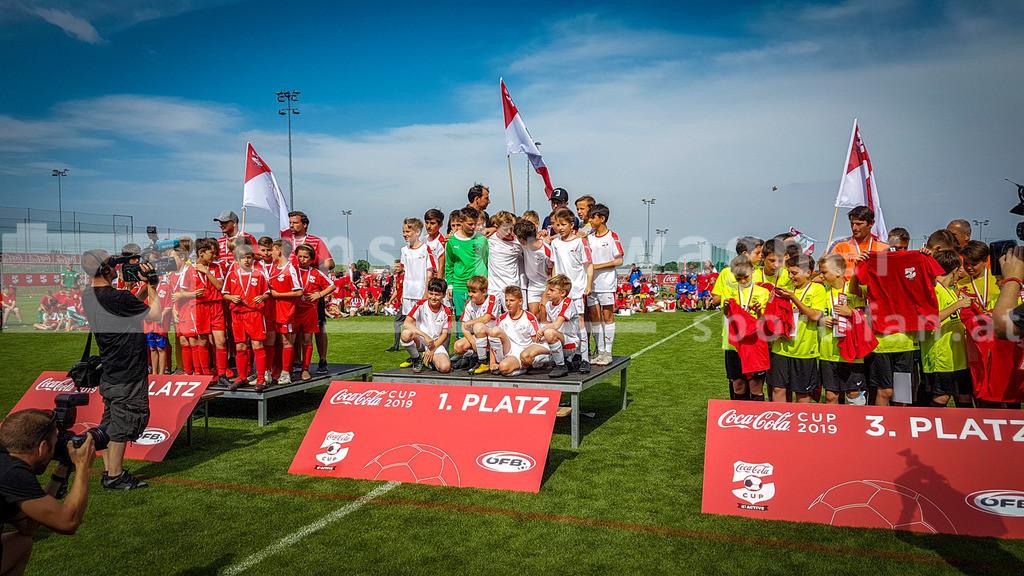 Fussball   Fussball, Coca Cola Cup 2019 at Akademie, Mattersburg on 16 June  2019. Photo: Ernst Krawagner