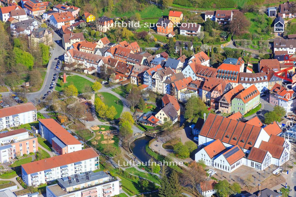 kulmbach-2016-3205   Luftbild von  Kulmbach - Luftaufnahme wurde 2016 von https://frankenair.de mittels Flugzeug (keine Drohne) erstellt - die Geschenkidee