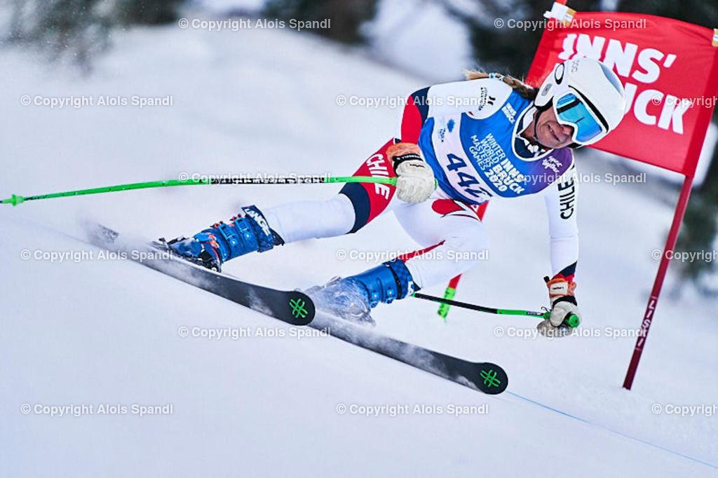 ALS5893_WWMG_GS-II_C   (C) FotoLois.com, Alois Spandl, WinterWorldMastersGames 2020 Innsbruck, Giant Slalom-II Gruppe C Damen, Patscherkofel Olympiaabfahrt, Mi 15. Jänner 2020.