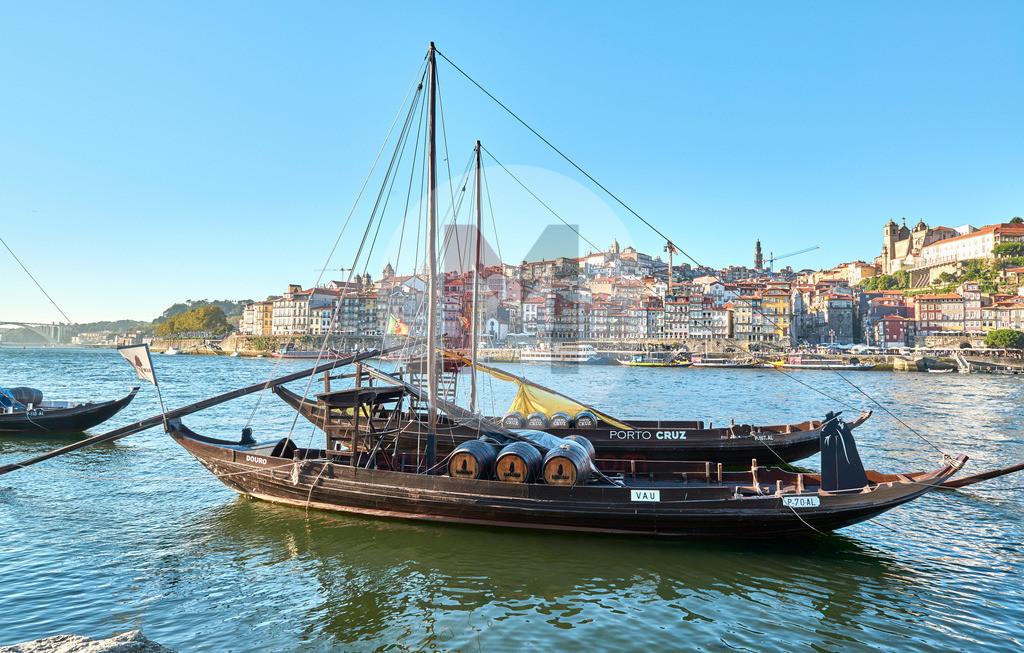 Die Stadt Porto in Portugal