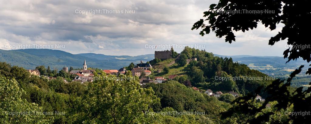 Lindenfels_2009 (2)   0806,Wenn das keine Perle des Odenwaldes ist- wunderschönes Panorama von Lindenfels,Bild: Thomas Neu