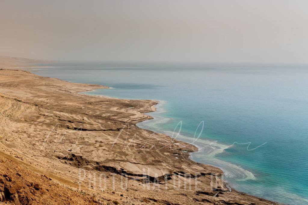 Das tote Meer | Unterschiedliche Farben des toten Meeres