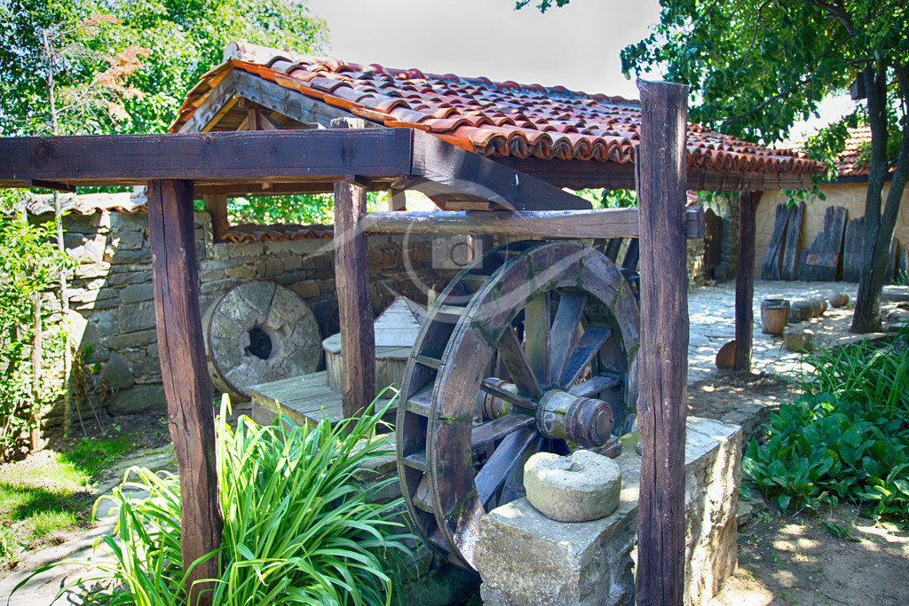 Bulgarien_ Landwirtschafter Hof