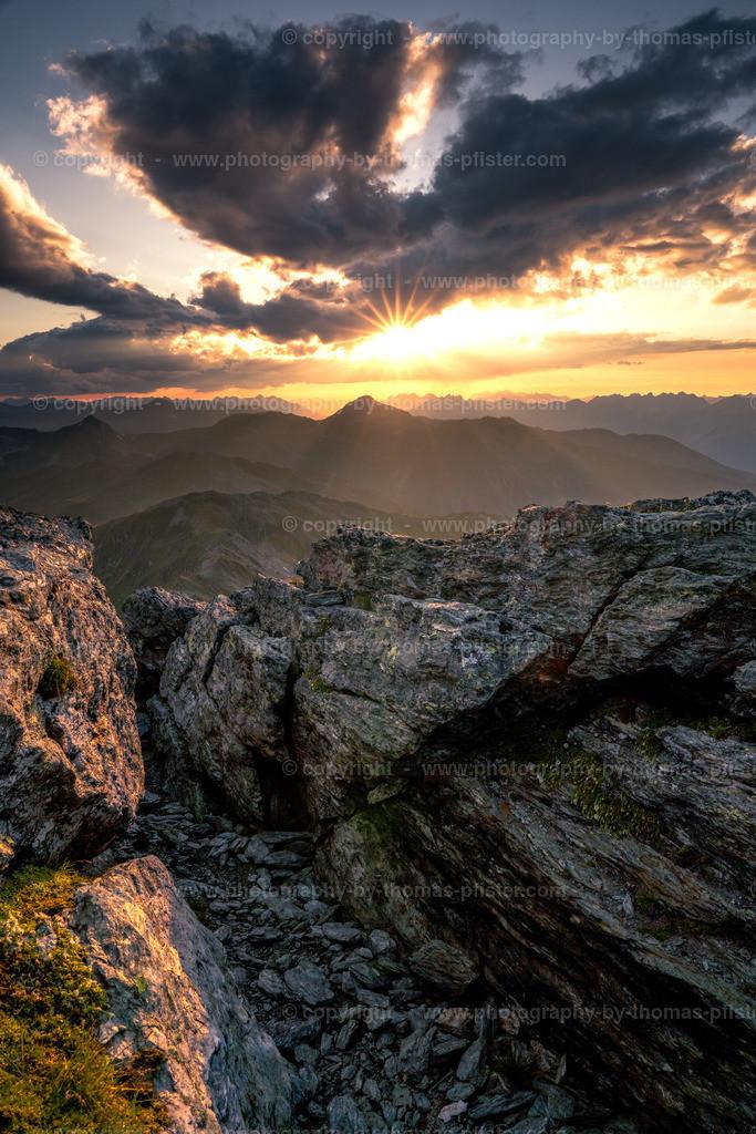 Sonnenuntergang am Rastkogel-3