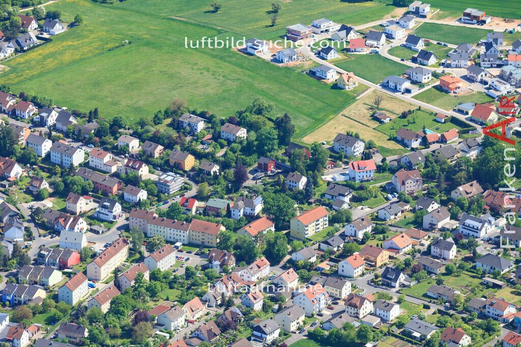 bischberg-18-344 | aktuelles Luftbild von  Bischberg - Luftaufnahme wurde 2018 von https://frankenair.de mittels Flugzeug (keine Drohne) erstellt.