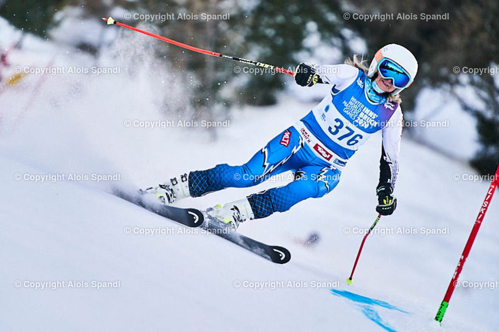 ALS5557_WWMG_GS-II_C | (C) FotoLois.com, Alois Spandl, WinterWorldMastersGames 2020 Innsbruck, Giant Slalom-II Gruppe C Damen, Patscherkofel Olympiaabfahrt, Mi 15. Jänner 2020.