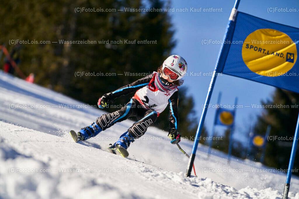 0204_KinderLM-RTL-I_Trattenbach_Rudloff Anna   (C) FotoLois.com, Alois Spandl, NÖ Landesmeisterschaft KINDER in Trattenbach am Feistritzsattel Skilift Dissauer, Sa 15. Februar 2020.