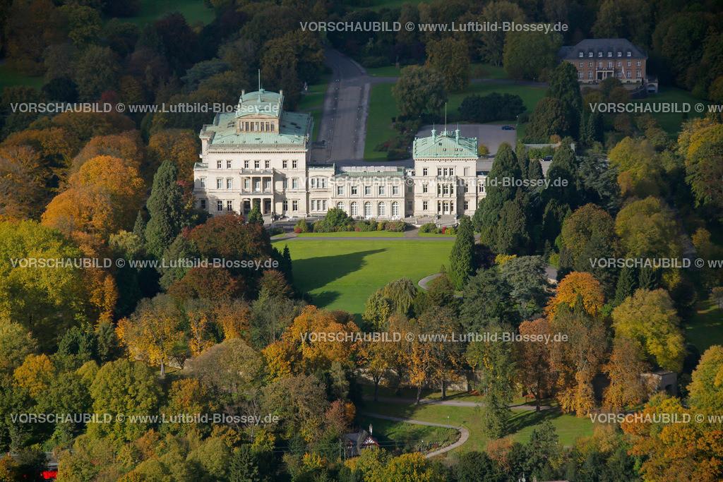 ES10104050 | Villa Huegel im Herbstwald,  Essen, Ruhrgebiet, Nordrhein-Westfalen, Germany, Europa
