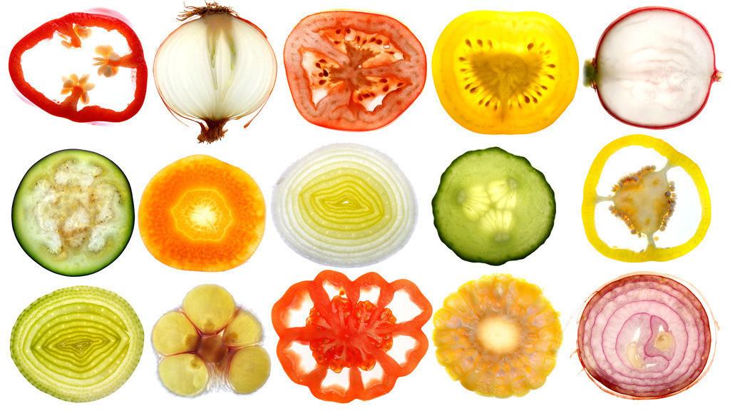 Gemuese | Gemüse, im Querschnitt