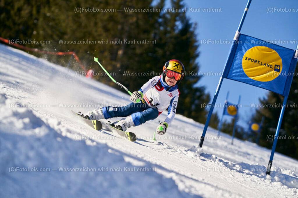 0149_KinderLM-RTL-I_Trattenbach_Bachler Luca   (C) FotoLois.com, Alois Spandl, NÖ Landesmeisterschaft KINDER in Trattenbach am Feistritzsattel Skilift Dissauer, Sa 15. Februar 2020.