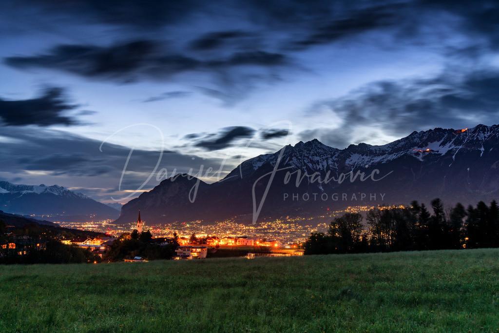 Aldrans   Abendstimmung im Mittelgebirge