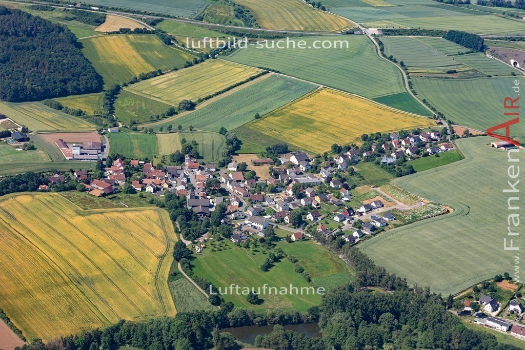 birkach-19-382 | aktuelles Luftbild von Birkach  - Luftaufnahme wurde 2019 von https://frankenair.de mittels Flugzeug (keine Drohne) erstellt.