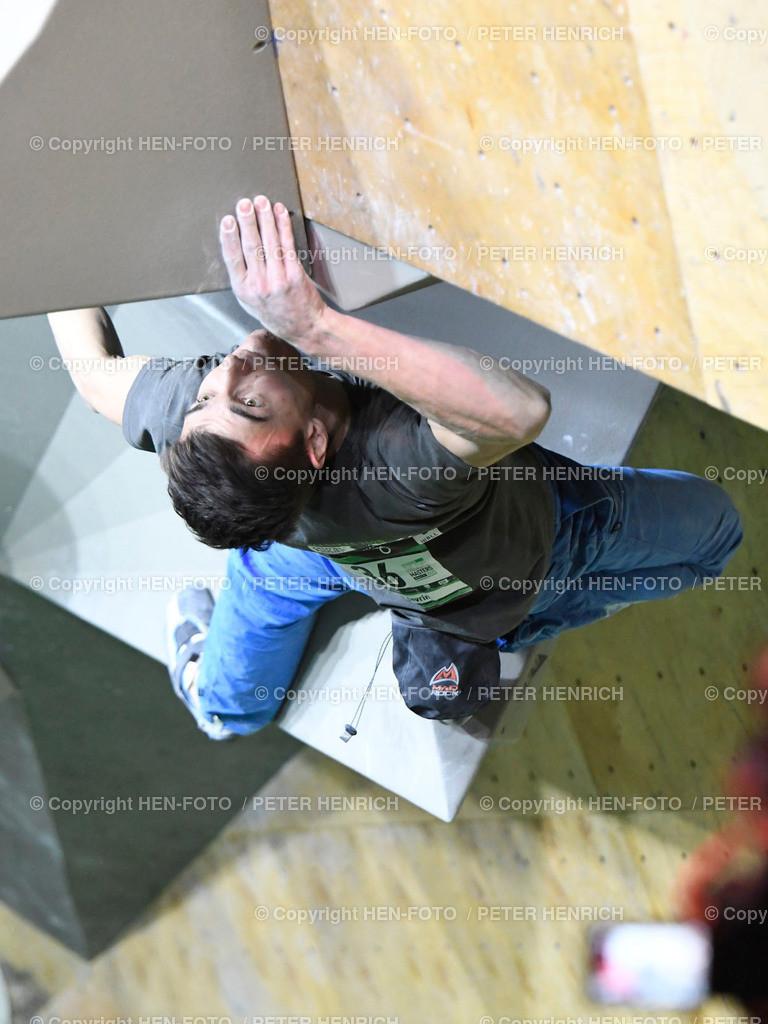 Boulder Master Pfungstadt Finale copyright HEN-FOTO | Boulder Master Pfungstadt Finale Sieger 36 Sergei Topiskko copyright + Foto: Peter Henrich (HEN-FOTO)