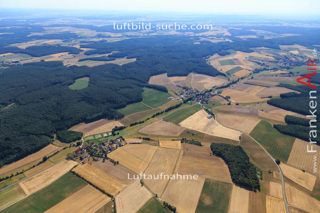 burghaslach-2015-2222 | Luftbild von  Burghaslach - Luftaufnahme wurde 2015 von https://frankenair.de mittels Flugzeug (keine Drohne) erstellt - die Geschenkidee