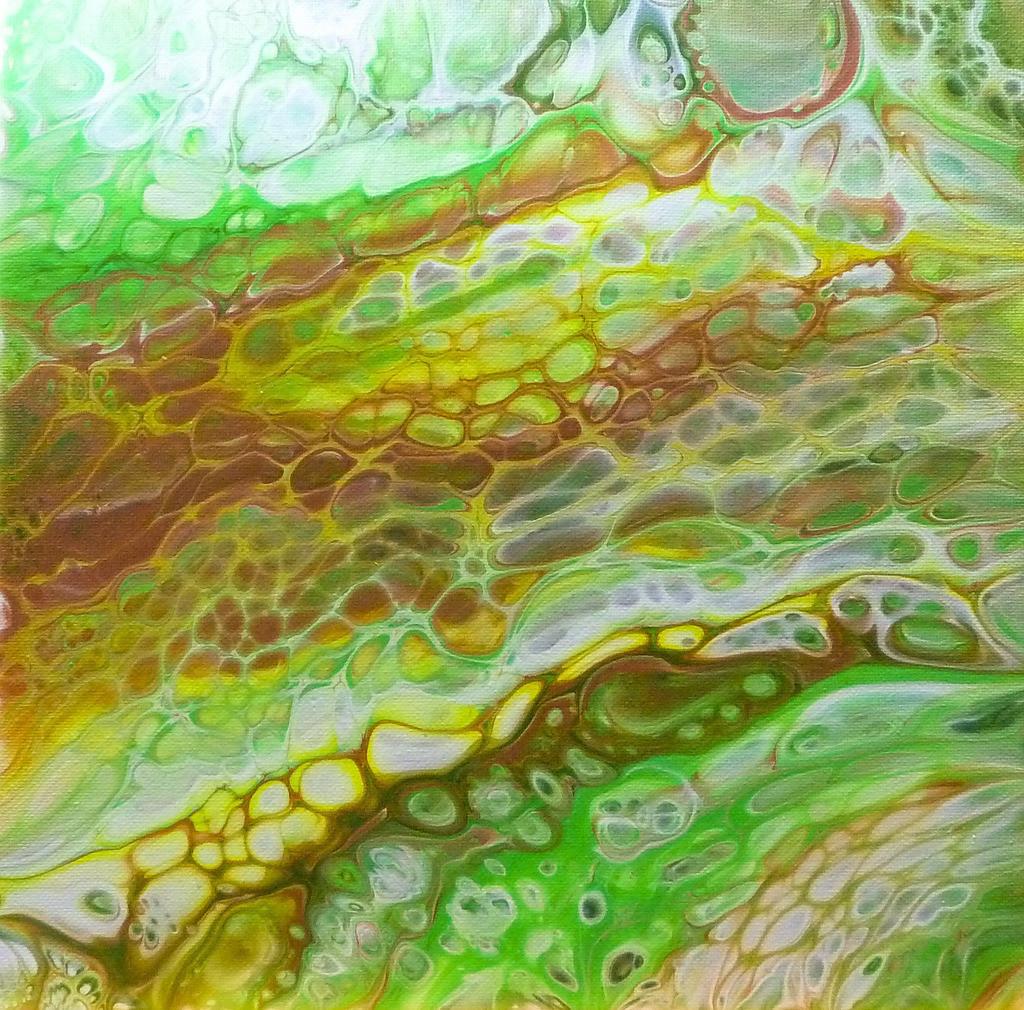 Acrylic Pouring - Im Rausch der Farben! | Meine Werke sind etwas für Individualisten. Jeder Betrachter entdeckt immer wieder etwas Neues in meinen Bildern und verbindet damit seine eigene persönliche Bedeutung. Jedes Bild ist ein Experiment, ein kreatives Zusammenspiel der Farben, welches einzigartige Unikate hervorbringt.  Die einzelnen Serien könnten durch ein ähnliches Farbspektrum erweitert werden.  Sie können hier einen Kunstdruck erwerben, sollten Sie Interesse an dem Original (auf Leinwand) haben dann schicken Sie uns eine Mail oder gern auch eine WhatsApp Nachricht, wir melden uns dann schnellstmöglich bei Ihnen.