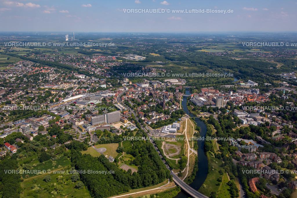 Luenen15064027 | Blick auf den Stadtkern von Lünen mit dem Umbau des Hertie-Hauses, Lünen, Ruhrgebiet, Nordrhein-Westfalen, Deutschland