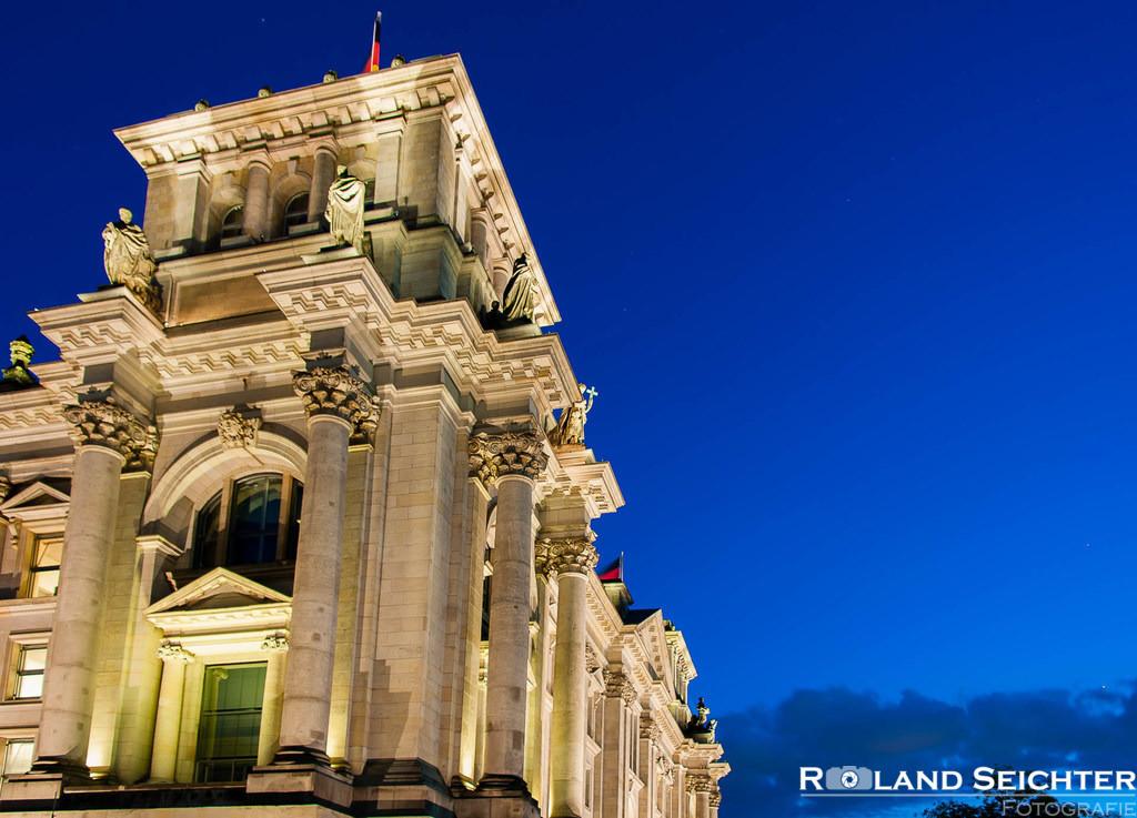Blue Reichstag I