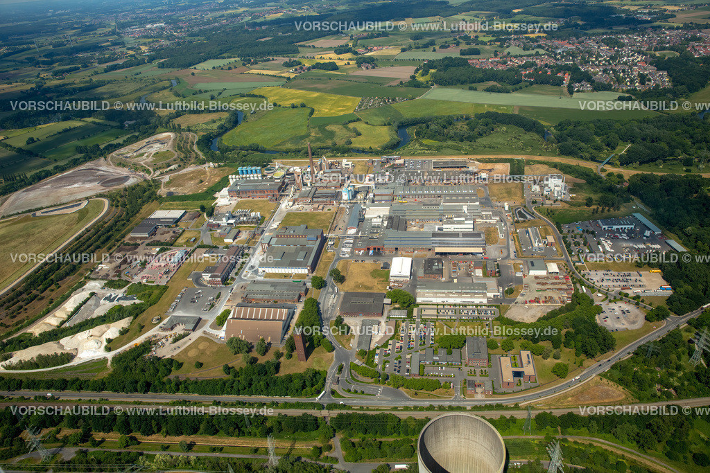Luenen15064110   REMONDIS, Abfallentsorger, Recyclingunternehmen, Abfallrecycling, Lünen, Ruhrgebiet, Nordrhein-Westfalen, Deutschland