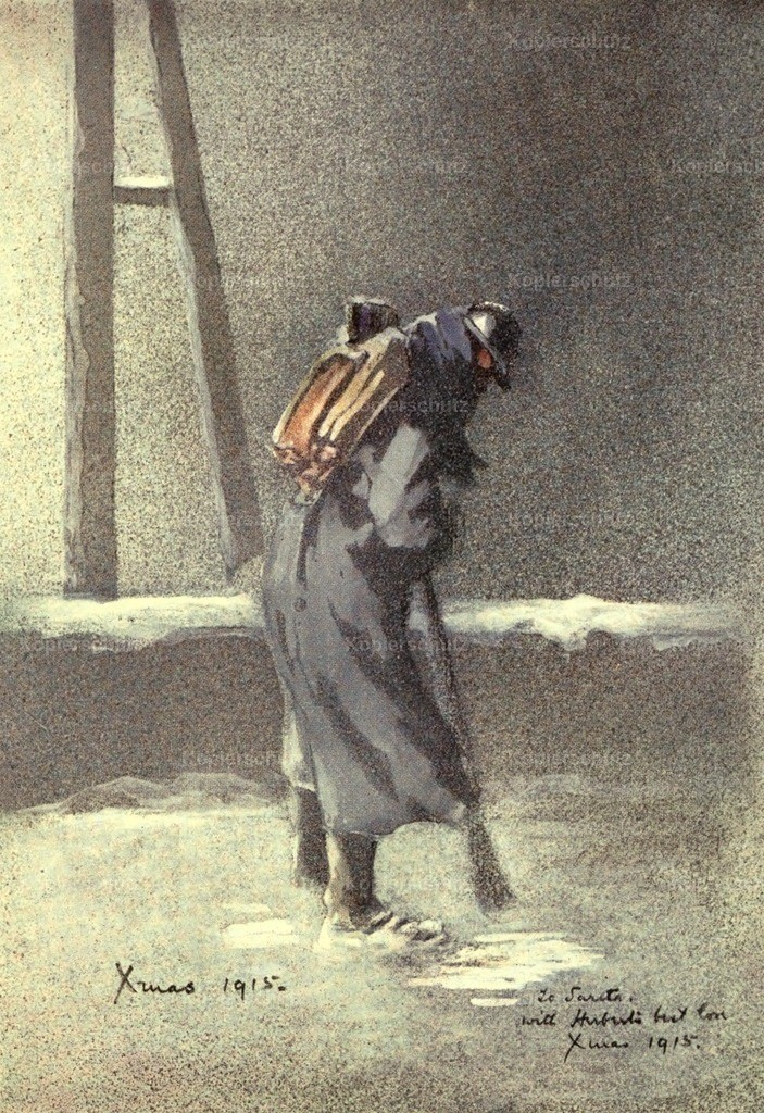 Ward_ Herbert (1863-1919) - Mr. Poilu 1916 - A Sentry