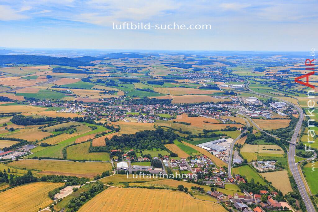 untersiemau-2016-3705 | Luftbild von  Untersiemau - Luftaufnahme wurde 2016 von https://frankenair.de mittels Flugzeug (keine Drohne) erstellt - die Geschenkidee