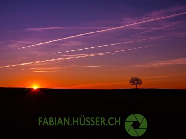 Sonnenuntergang | minimalistischer Sonnenuntergang