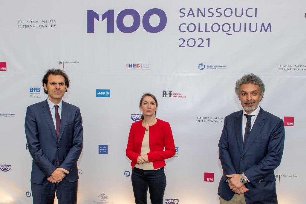 M100 Sanssouci Colloquium und die M100 Media Award Verleihung