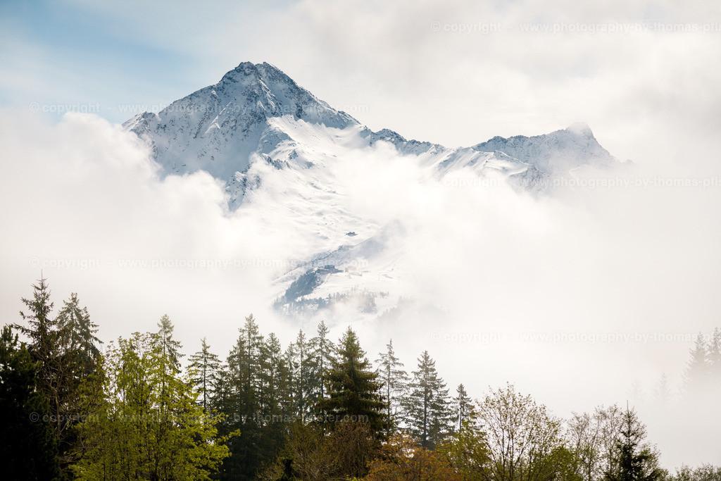 Ahornspitze im Nebel