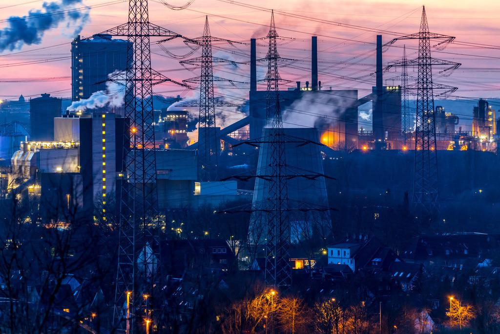 JT-18021-088 | Kokerei Proper in Bottrop, rechts, RWE Müllverbrennungsanlage Essen-Karnap,