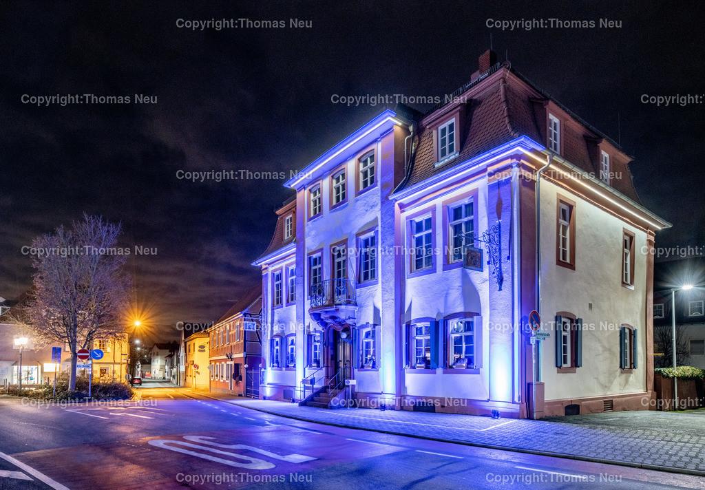 DSC_4240   ble,Lorsch, blaues Weihnachtswunder, Innenstadt, ,, Bild: Thomas Neu