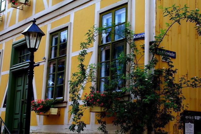 Keßlerstraße | Idyllische Straßenecke an der Keßlerstraße und Am Kehrwieder