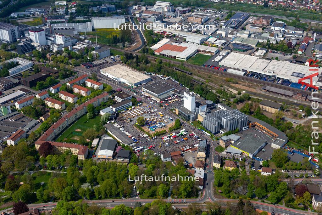 kulmbach-18-71 | aktuelles Luftbild von  Kulmbach - Luftaufnahme wurde 2018 von https://frankenair.de mittels Flugzeug (keine Drohne) erstellt.