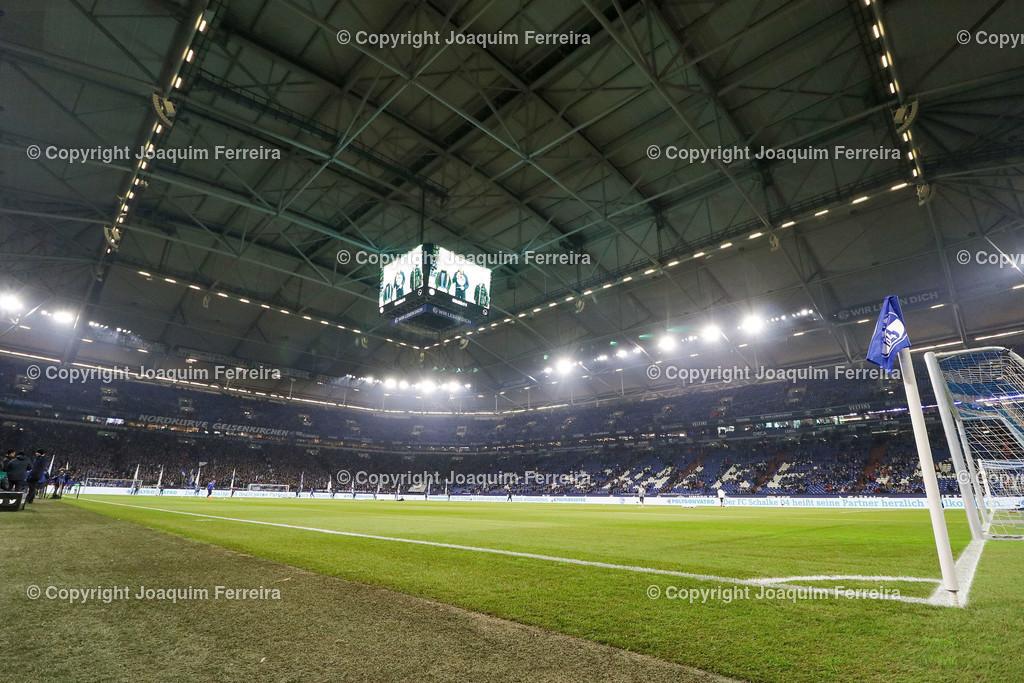191215_schvssge_0041 | 15.12.2019 Fussball 1.Bundesliga, FC Schalke 04 - Eintracht Frankfurt  emspor  v.l.,  VELTINS-Arena Innenansicht     (DFL/DFB REGULATIONS PROHIBIT ANY USE OF PHOTOGRAPHS as IMAGE SEQUENCES and/or QUASI-VIDEO)