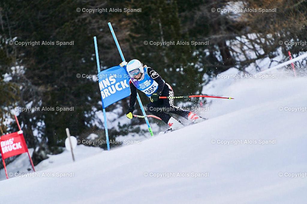 ALS5481_WWMG_GS-II_C   (C) FotoLois.com, Alois Spandl, WinterWorldMastersGames 2020 Innsbruck, Giant Slalom-II Gruppe C Damen, Patscherkofel Olympiaabfahrt, Mi 15. Jänner 2020.
