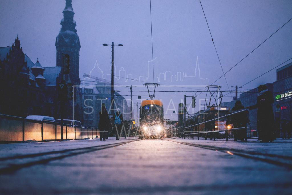 Winter Schnee Leipzig  (9)