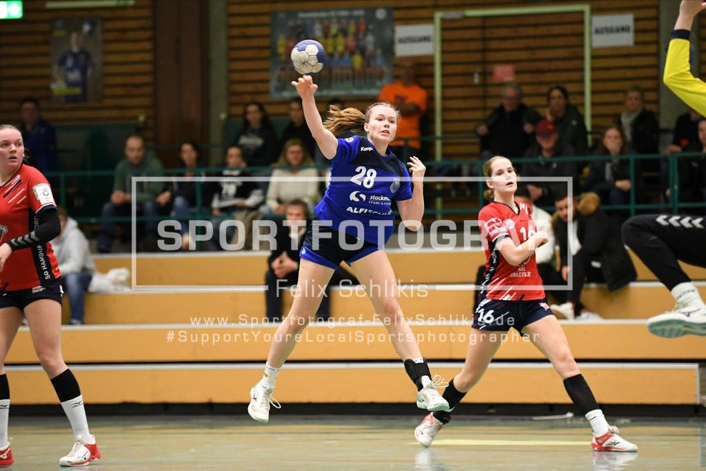 Handball I Bundesliga-Quali (wjA) I  Buxtehuder SV (wjA)- SG Hamburg-Nord I 11.10.2020_00069 | ; Jugend Bundesliga (wjA) I Buxtehuder SV (wjA)- SG Hamburg-Nord am 11.10.2020 in Buxtehude  (Sporthalle Kurt-Schuhmacher Strasse), Deutschland