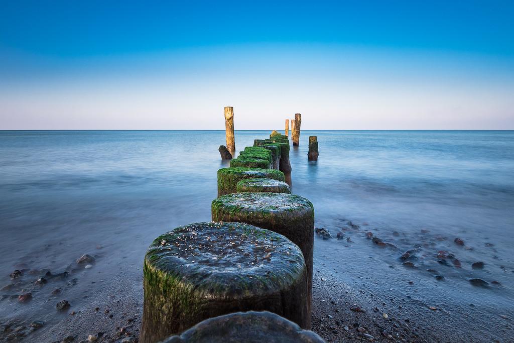 Strand an der Ostseeküste bei Graal Müritz   Strand an der Ostseeküste bei Graal Müritz.
