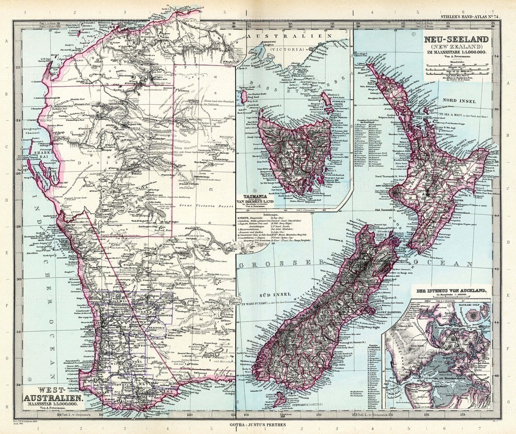 Stielers_Handatlas_1891_74-New Zealand