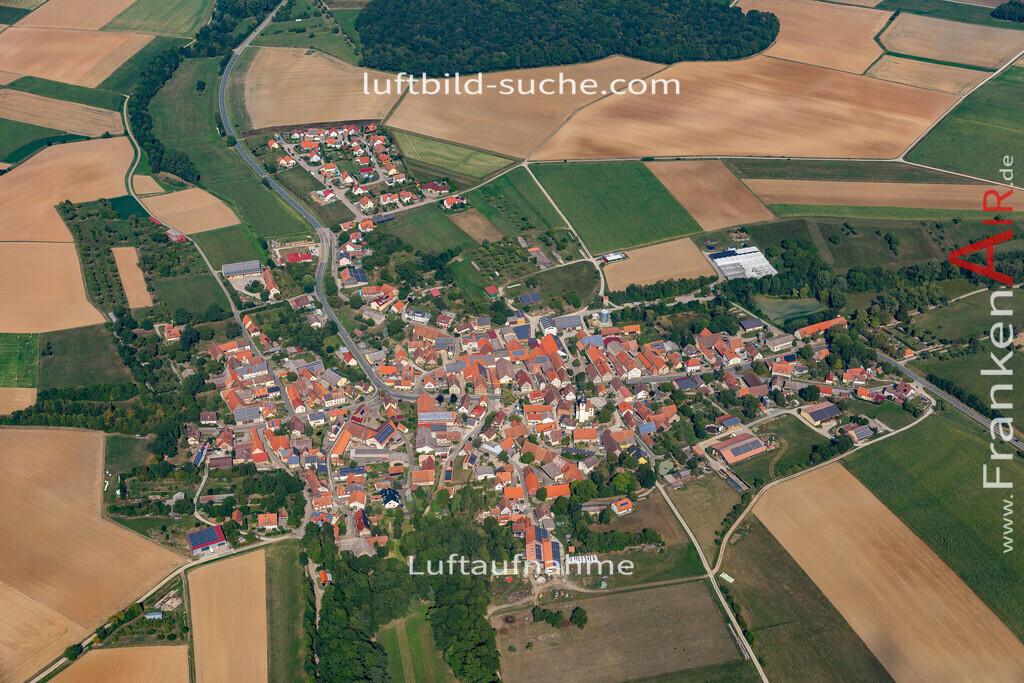 welbhausen-19-685   aktuelles Luftbild von Welbhausen   - Luftaufnahme wurde 2019 von https://frankenair.de mittels Flugzeug (keine Drohne) erstellt.