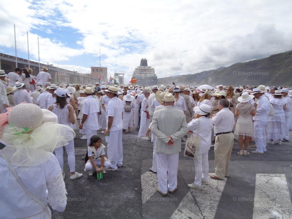DSC00858 | So werden  die Kreuzfahrt Gäste einmal im Jahr begrüßt