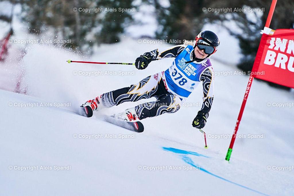 ALS5569_WWMG_GS-II_C | (C) FotoLois.com, Alois Spandl, WinterWorldMastersGames 2020 Innsbruck, Giant Slalom-II Gruppe C Damen, Patscherkofel Olympiaabfahrt, Mi 15. Jänner 2020.