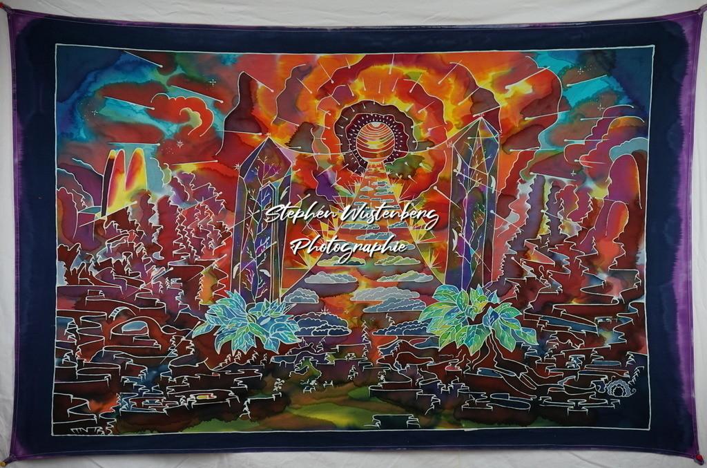 Stairway to Heaven | Roland Gingel Artwork @ Gravity Boulderhalle, Horst und Margit Heieck, Bad Kreuznach