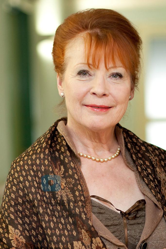 Renate Schroeter | Renate Schroeter. Fototermin am Set des SAT1 Films