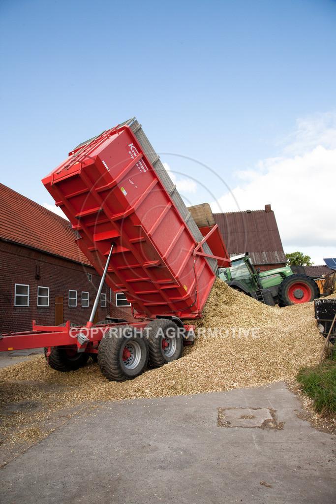 20080914-IMG_9117 | Silomais wird gehäckselt - AGRARFOTO Bilder aus der Landwirtschaft