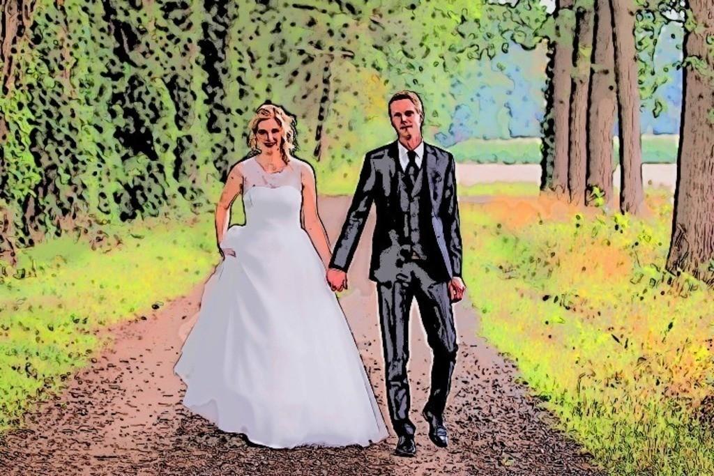 Brautpaar 3 Bild 033
