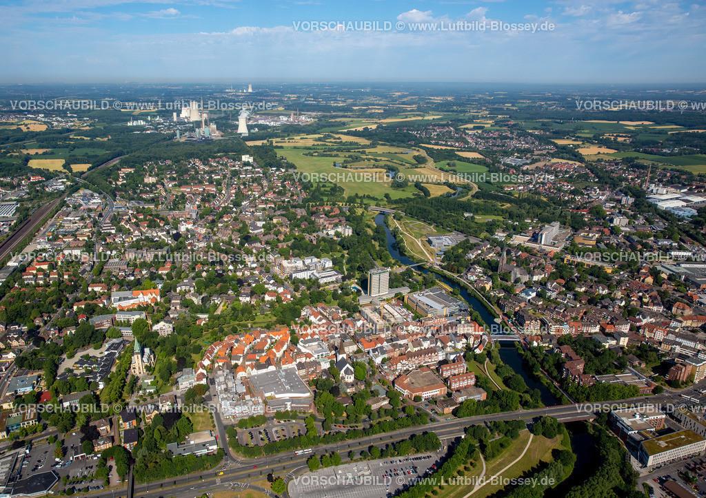 Luenen15071895 | Blick auf den Stadtkern von Lünen mit dem Umbau des Hertie-Hauses, Lünen, Ruhrgebiet, Nordrhein-Westfalen, Deutschland