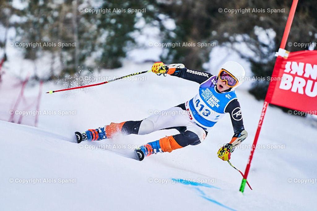 ALS5758_WWMG_GS-II_C | (C) FotoLois.com, Alois Spandl, WinterWorldMastersGames 2020 Innsbruck, Giant Slalom-II Gruppe C Damen, Patscherkofel Olympiaabfahrt, Mi 15. Jänner 2020.