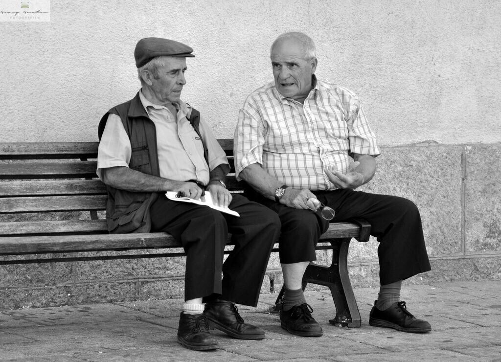 Dorfschwatz auf Sardinien