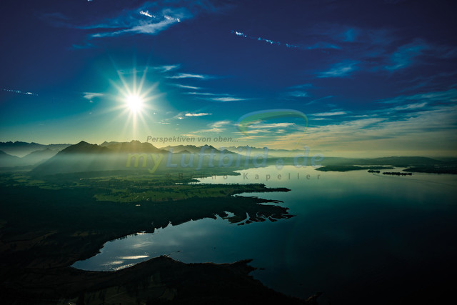 luftbild-chiemsee-achendelta-bruno-kapeller-01 | Luftaufnahme vom Chiemsee mit Achendelta