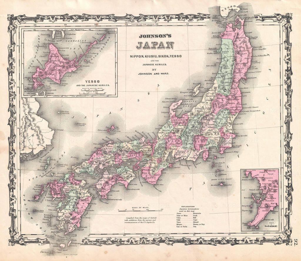 1862_Johnson_Map_of_Japan